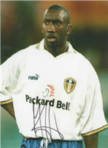 Jimmy Floyd Hasselbaink, Football, Genuine Signed Autograph (04)